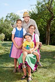 Pressefoto Floh Familie